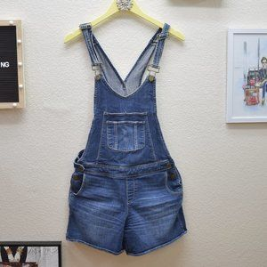 Paige Denim Overall Shorts Small
